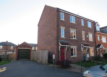 Thumbnail 3 bed town house for sale in Bramley Way, Misterton, Doncaster