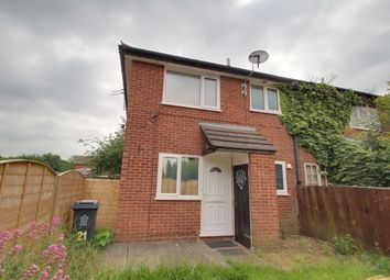 Thumbnail 1 bed town house to rent in Longhurst Close, Leicester