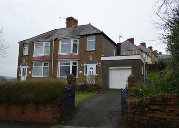 Thumbnail 3 bedroom semi-detached house for sale in Cockett Road, Swansea