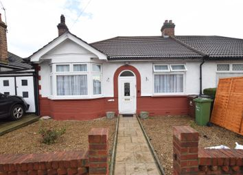 Thumbnail 2 bed semi-detached bungalow for sale in Wadeville Avenue, Chadwell Heath, Romford