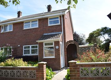 Thumbnail 3 bed semi-detached house for sale in Avocet Way, Bradwell, Great Yarmouth