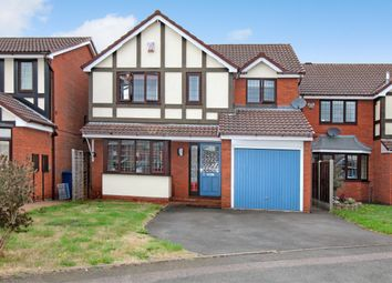Thumbnail 4 bed detached house for sale in Cumberland Drive, Tamworth