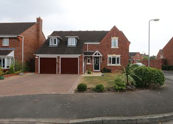 Thumbnail 4 bed detached house for sale in Edwards Farm Road, Fradley, Lichfield, Staffordshire