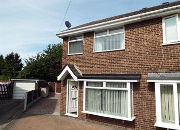 Thumbnail 3 bed semi-detached house for sale in Bartlett Close, Garden City, Deeside, Flintshire