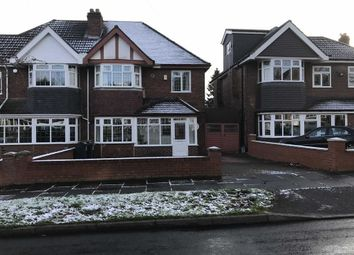 Thumbnail 3 bed semi-detached house to rent in Eastbourne Avenue, Hodge Hill, Birmingham