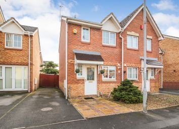 Thumbnail 2 bedroom semi-detached house for sale in Harrison Drive, St Mellons