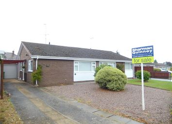 Thumbnail 2 bed semi-detached bungalow for sale in Manor Way, Deeping St. James, Peterborough