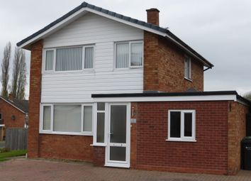 Thumbnail 3 bed detached house for sale in Bardolph Close, Hereford