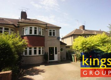 Thumbnail 3 bed semi-detached house for sale in Holly Drive, London