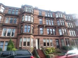 Thumbnail 3 bed flat to rent in Falkland Street 17 Main Door, Glasgow