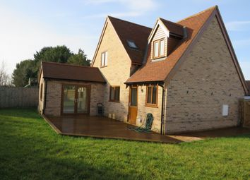 Thumbnail 4 bedroom detached house to rent in The Street, Holywell Row, Bury St. Edmunds