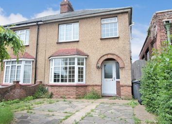 Thumbnail 3 bed semi-detached house to rent in Barkers Lane, Bedford