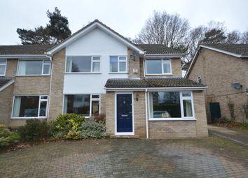Thumbnail 4 bed semi-detached house for sale in Foxcote, Finchampstead