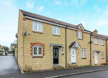 Thumbnail 3 bed end terrace house for sale in Newington Close, Frome