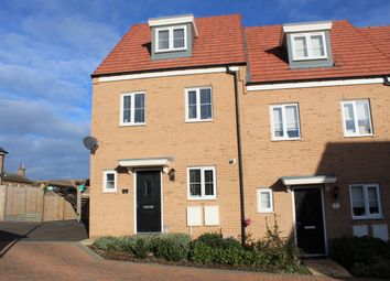 Thumbnail 3 bed end terrace house for sale in Yates Meadow, Potton, Sandy