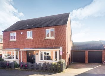 Thumbnail 4 bed detached house for sale in Kent Road South, Marina Park, Northampton
