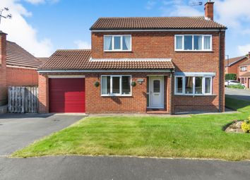 Thumbnail 4 bed detached house for sale in Hallview Road, Rossington, Doncaster