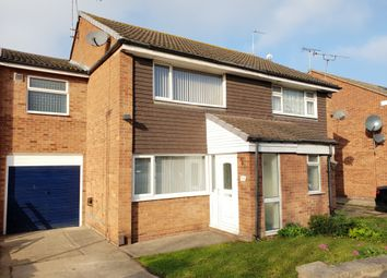 Thumbnail 3 bed semi-detached house to rent in Uttoxeter Close, Rushey Mead, Leicester