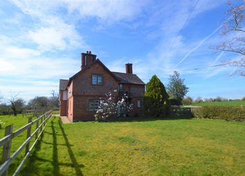Thumbnail 4 bedroom detached house to rent in Long Lane, Waverton, Chester