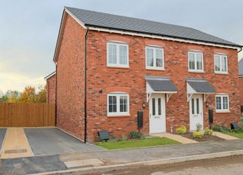 Thumbnail 2 bed semi-detached house for sale in Ravencroft Street, Moulton, Northwich