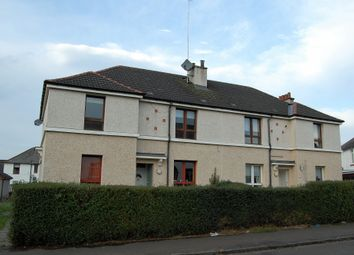 Thumbnail 2 bed flat for sale in Arisaig Drive, Mosspark