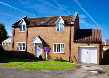 Thumbnail 4 bedroom detached house for sale in Holmes Way, Market Rasen
