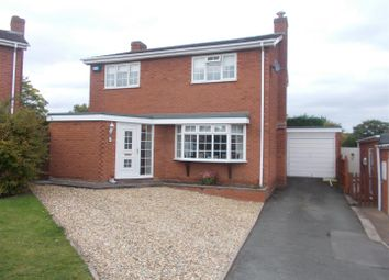 Thumbnail 3 bed detached house for sale in Birch Drive, Hanwood, Shrewsbury