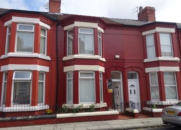 Thumbnail 3 bed terraced house to rent in Silverdale Avenue, Old Swan, Liverpool