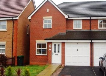 Thumbnail Semi-detached house to rent in St. David Drive, Wednesbury