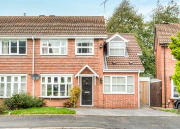 Thumbnail 4 bedroom semi-detached house for sale in Tisdale Rise, Kenilworth