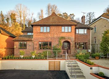 Thumbnail 4 bed detached house for sale in Grove Road, Godalming, Surrey