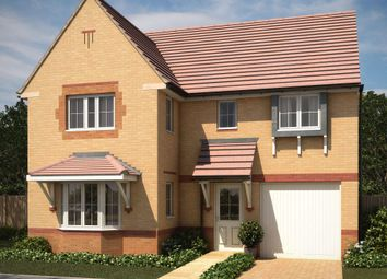 "Thumbnail 4 bedroom detached house for sale in ""Halstead"" at Bearscroft Lane, London Road, Godmanchester, Huntingdon"