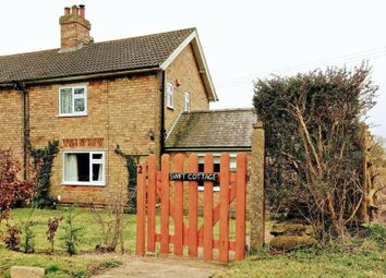 Thumbnail 2 bed semi-detached house for sale in Poke Holes Cottages, Calcethorpe, Louth