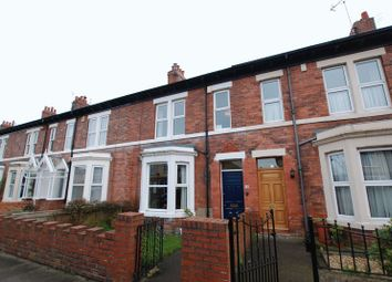 Thumbnail 6 bed terraced house for sale in Bath Terrace, Gosforth, Newcastle Upon Tyne