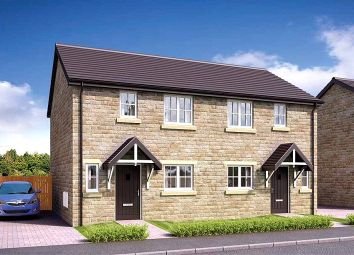 Thumbnail 2 bed semi-detached house for sale in Charles Road, Rose Gardens, Clitheroe