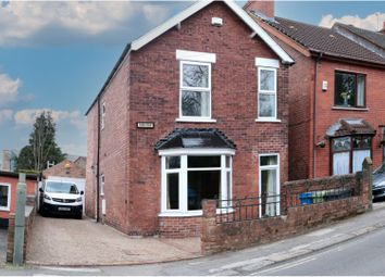 Park Road, Chesterfield S40. 3 bed detached house for sale