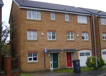 Thumbnail 4 bed town house to rent in Linnyshaw Close, Bolton