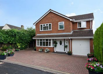 Thumbnail 4 bed detached house for sale in St. Christopher Close, Hednesford, Cannock