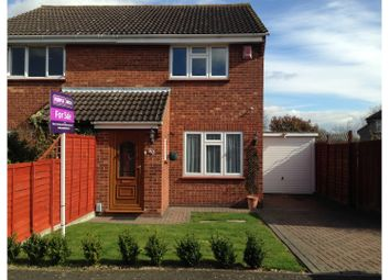 Thumbnail 2 bed semi-detached house for sale in Midsummer Road, Snodland