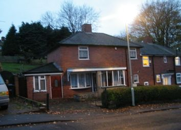 Thumbnail 3 bed property to rent in Sensall Road, Stourbridge