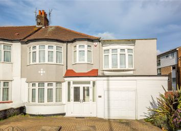 Thumbnail 4 bed end terrace house for sale in Hedge Lane, Palmers Green, London