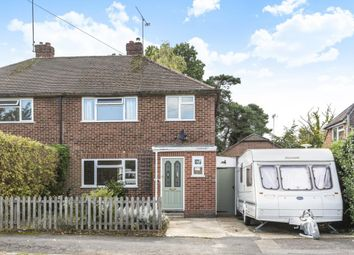 Thumbnail 3 bed semi-detached house for sale in Frensham Road, Crowthorne