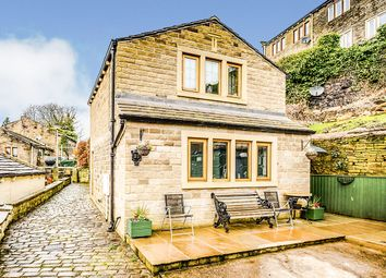 Thumbnail 1 bed detached house for sale in Rock Fold, Golcar, Huddersfield, West Yorkshire
