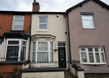 Thumbnail 2 bed terraced house for sale in Dartmouth Street, Burslem, Stoke-On-Trent
