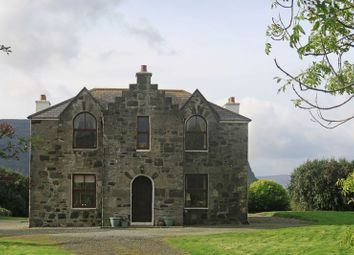 Thumbnail 4 bedroom detached house for sale in Lochbay House: 4 Beds 1 En-Suite, 4.2 Acres To Shore, Waternish