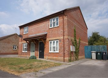 Thumbnail 2 bed semi-detached house for sale in Bishops Close, Louth