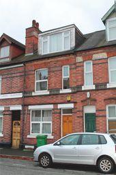 Thumbnail 5 bedroom terraced house to rent in Albert Road, Lenton, Nottingham