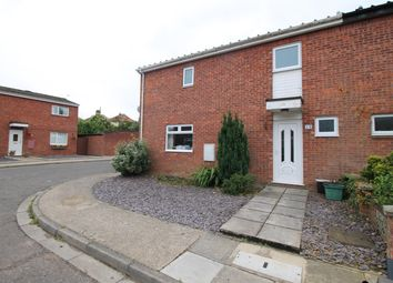 Thumbnail 3 bed end terrace house for sale in Honey Close, Norwich