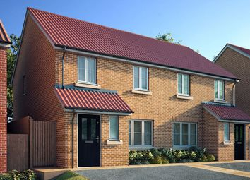 "Thumbnail 3 bedroom semi-detached house for sale in ""The Marston"" at Spellowgate, Driffield"