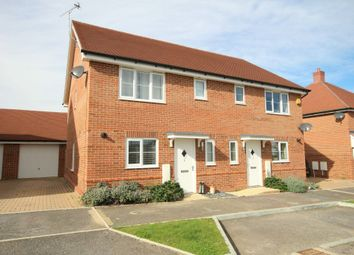 Thumbnail 3 bed semi-detached house for sale in Sargent Way, Broadbridge Heath, Horsham